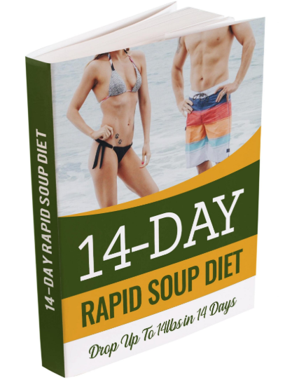 14 Day Rapid Soup Diet Book