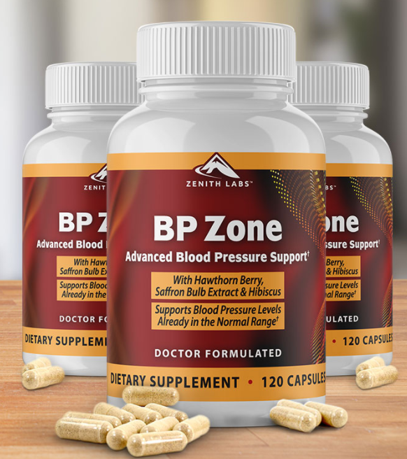 BP Zone Capsules - The Best Blood Pressure Formula